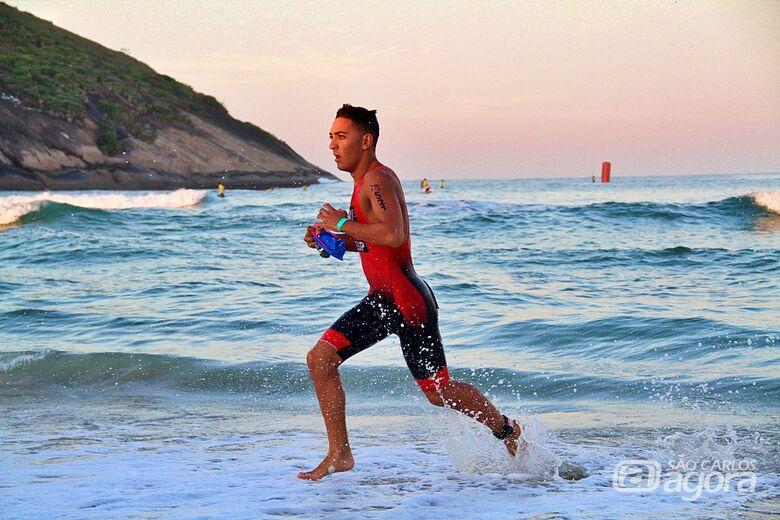 Atleta são-carlense é convocado para Mundial de Triathlon na França - Crédito: Divulgação
