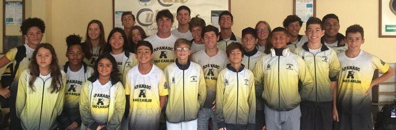 Atletas da Apanasc/Smec se preparam para desafios estaduais e nacionais - Crédito: Divulgação