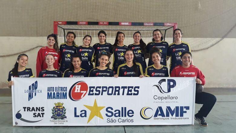 De olho na primeira vitória, H7 Esportes/La Salle encara Santos - Crédito: Marcos Escrivani
