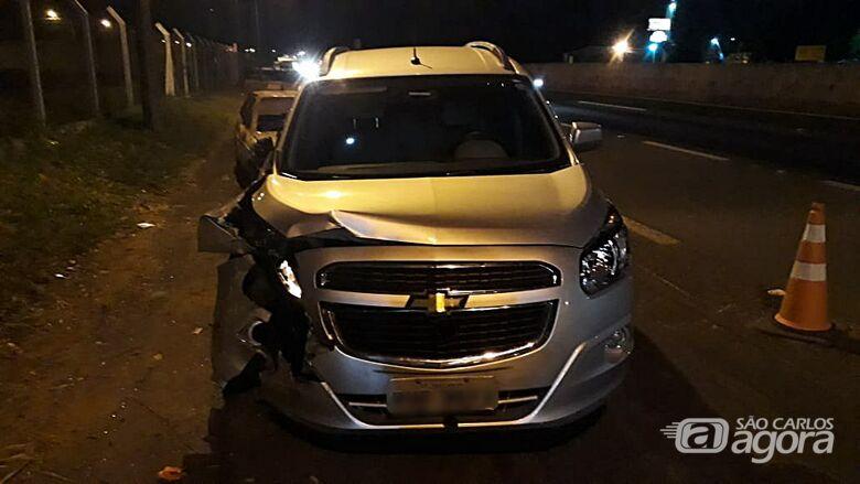 Taxista desvia de cachorro e colide em árvore na SP-310 - Crédito: Arquivo/SCA