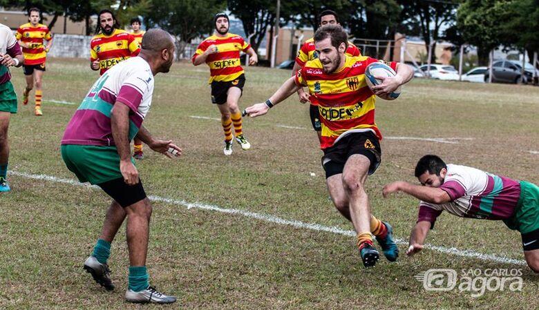 São Carlos e Rio Branco de olho na liderança do Paulista B - Crédito: Danilo Butolo/Rugby São Carlos