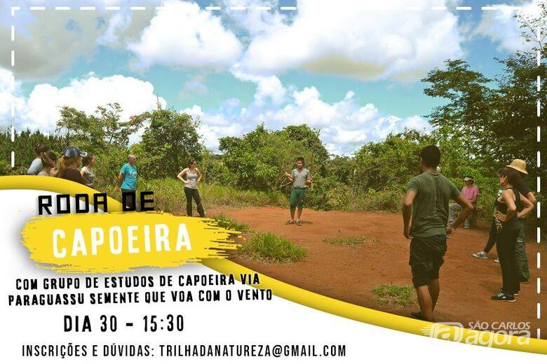 UFSCar promove roda de capoeira e caminhada no Cerrado neste domingo - Crédito: Projeto Trilhas da Natureza/UFSCar