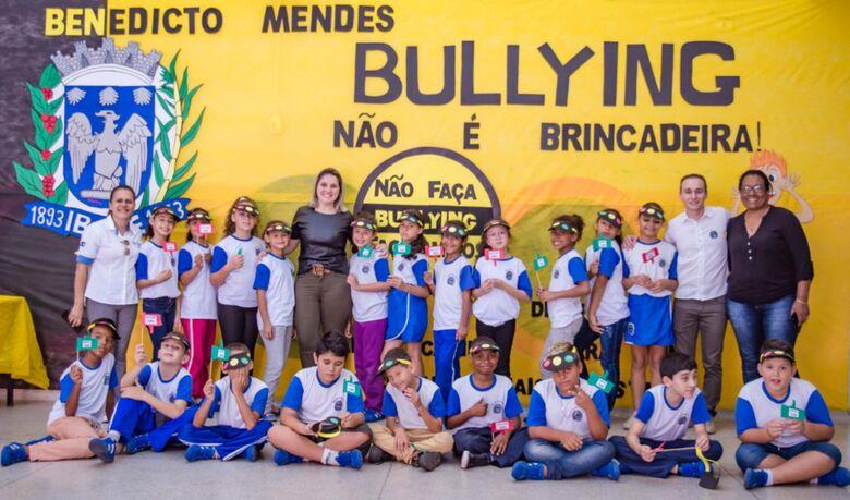 """Escola Municipal """"Julio B. Mendes"""" desenvolve projeto sobre bullying - Crédito: Divulgação"""