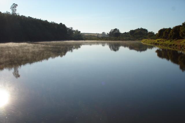UFSCar realiza manutenção preventiva na barragem do lago do Campus São Carlos - Crédito: Divulgação