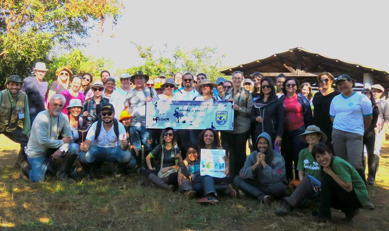 Professores da rede pública estadual conhecem o Cerrado da UFSCar - Crédito: Divulgação