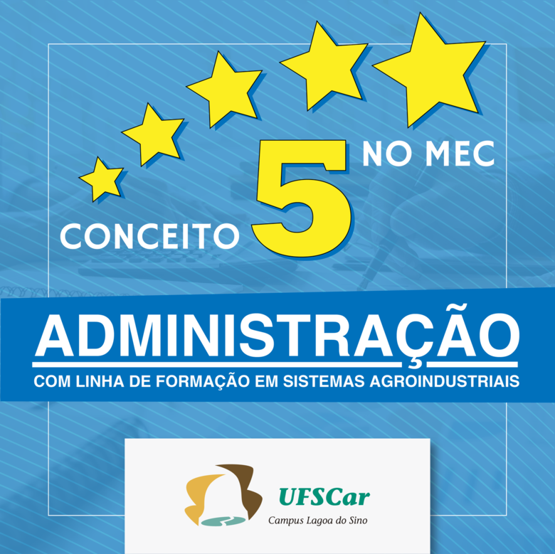 Considerado de excelência, curso da UFSCar recebe nota máxima do MEC - Crédito: Tiago Santi - SeCS/LS
