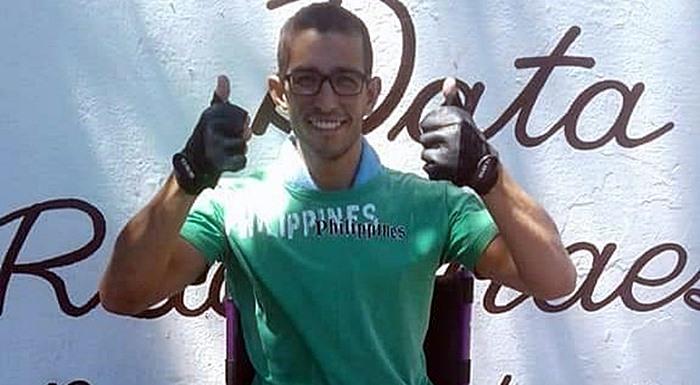 Ação solidária busca ajudar Lucas Daniel; jovem sofre com ataxia cerebral - Crédito: Divulgação