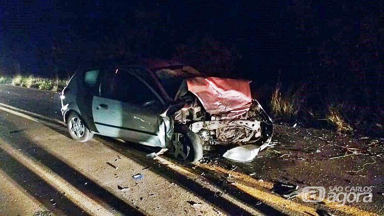 Motorista morre após violento acidente em Ribeirão Bonito - Crédito: Colaborador/SCA