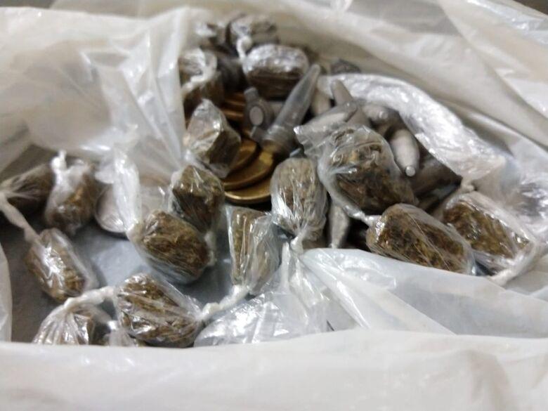 GM flagra rapaz com drogas no Parque Sissi - Crédito: Luciano Lopes