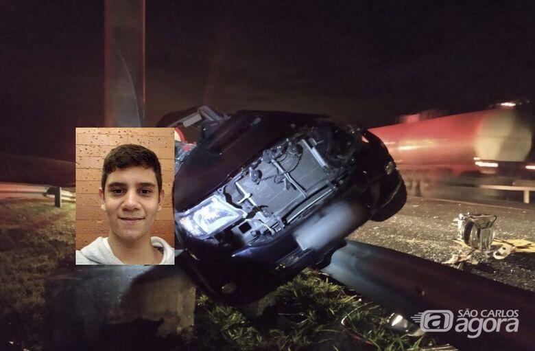 Adolescente morre após capotamento em rodovia da região - Crédito: Grupo Rio Claro