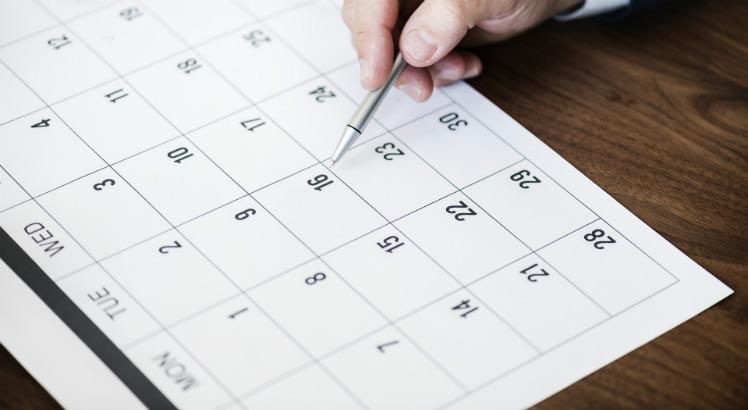 Aprovado projeto que antecipa feriados para as segundas-feiras - Crédito: Pixabay