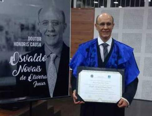 """Pesquisador de São Carlos é """"Honoris Causa"""" em universidade sul-mato-grossense - Crédito: Divulgação"""