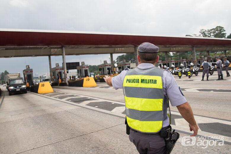 """Polícia Rodoviária inicia operação """"Corpus Christi 2019"""" com o uso de dezenas de bafômetros - Crédito: Divulgação"""