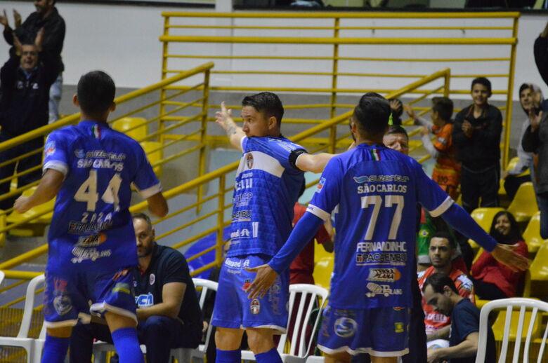 Com entrada gratuita, São Carlos recebe o Pato pela Liga Nacional - Crédito: Maicon Reis