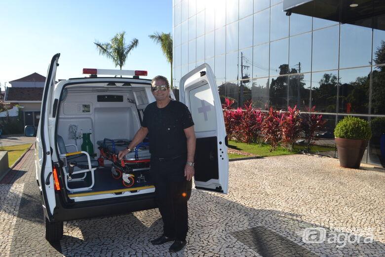 Prefeitura de Ibaté adquire mais uma ambulância para o Departamento da Saúde - Crédito: Divulgação