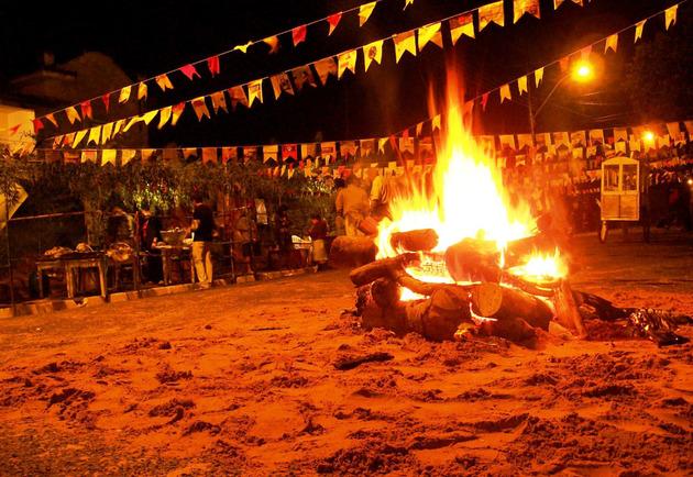 Paróquia São Roque em Água Vermelha promove grande festa junina -