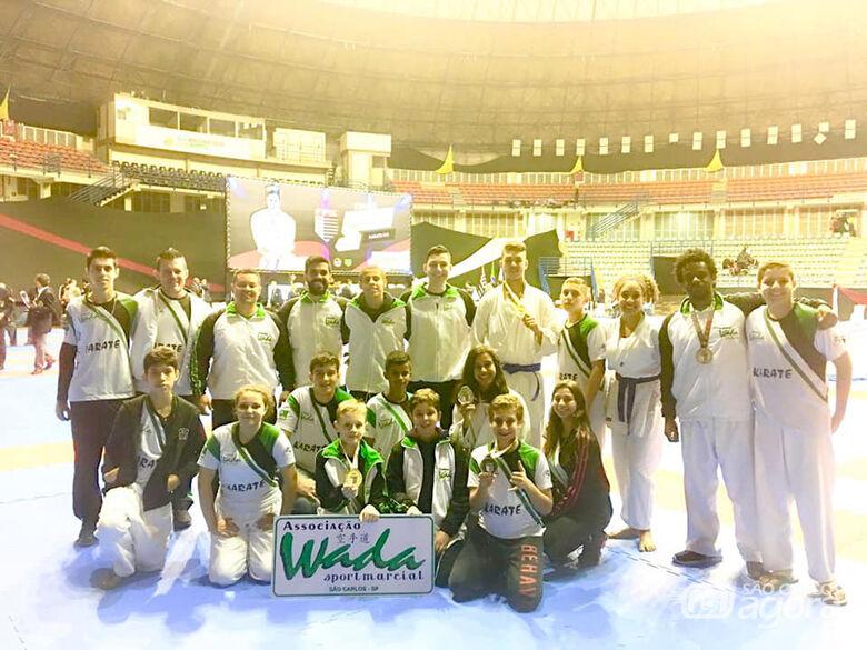 Equipe Wada brilha e conquista 11 medalhas na final do Paulista - Crédito: Divulgação