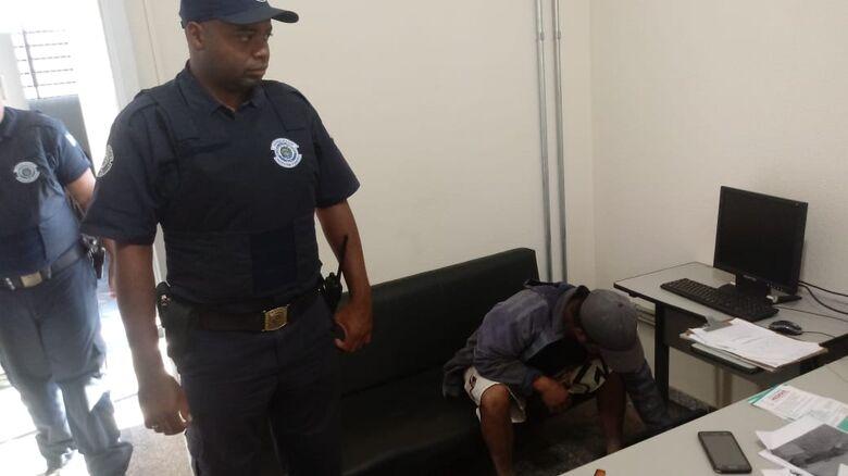 Guarda Municipal identifica autor de vários furtos na ETE em Ibaté - Crédito: Divulgação