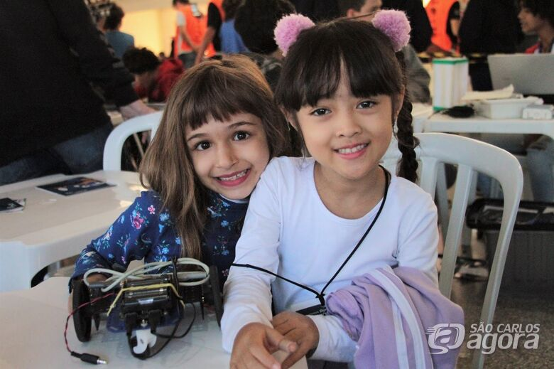 Como a robótica desperta o encanto pelo conhecimento em crianças de São Carlos - Crédito: Denise Casatti