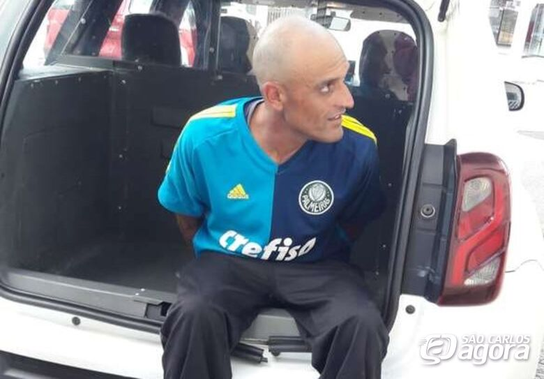 ROCAM prende homem que esfaqueou desafeto no Santa Felícia - Crédito: Maycon Maximino