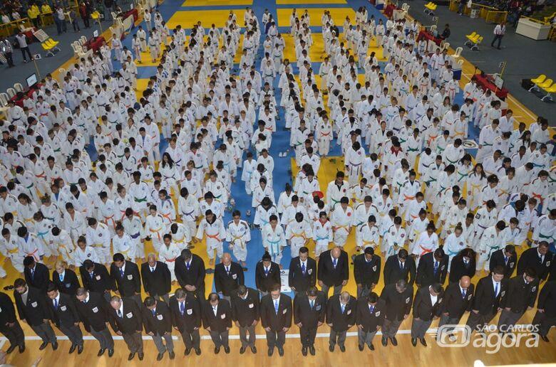 Campeonato Paulista de Judô reúne mais de mil atletas no Ginásio Milton Olaio Filho - Crédito: Divulgação