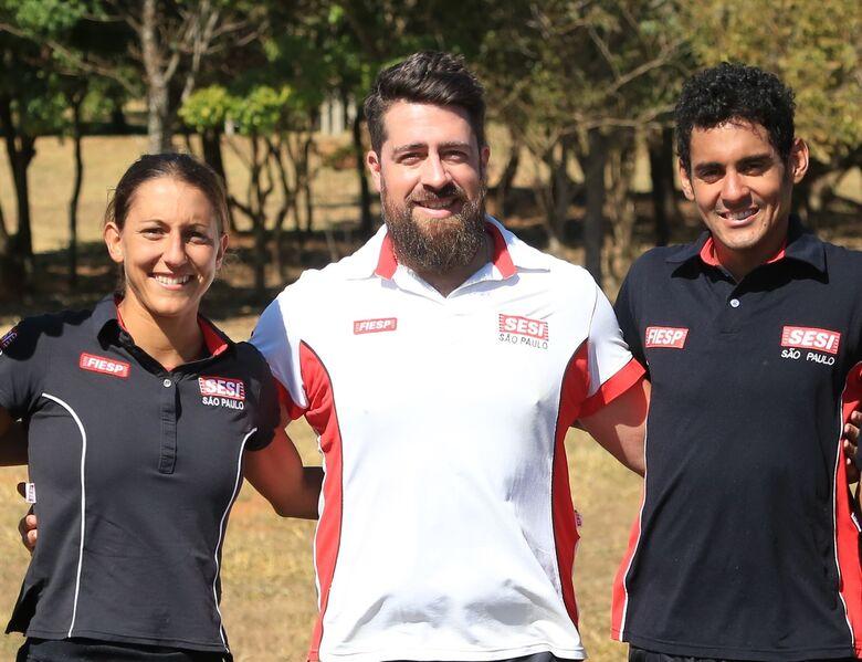 Triatletas do Sesi São Carlos participarão dos Jogos Panamericanos de Lima - Crédito: Divulgação