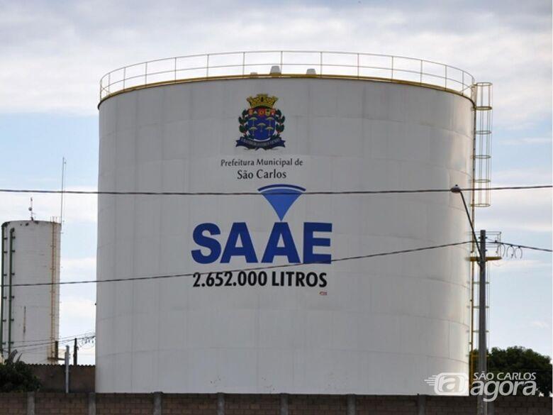 SAAE realiza manutenção e vários bairros podem ficar sem água -