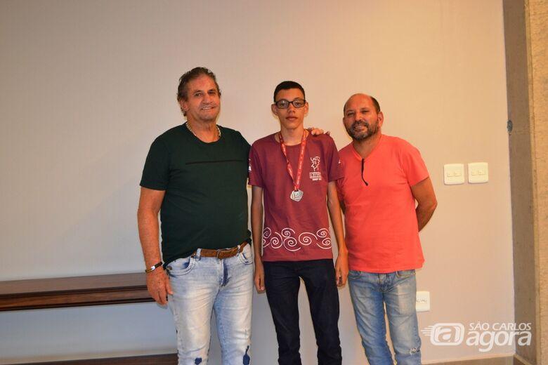 Estudante de 14 anos de Ibaté conquista mais uma medalha na OBMEP - Crédito: Divulgação