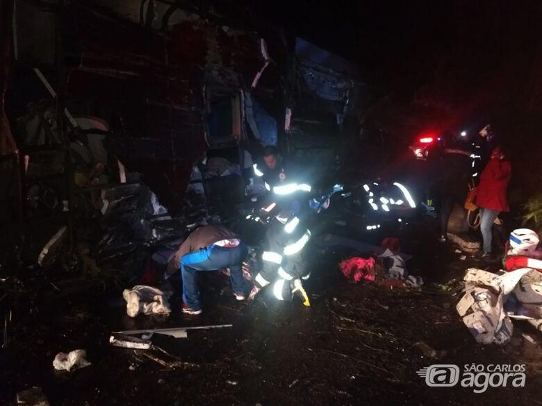Acidente com ônibus deixa ao menos 10 mortos no interior de SP - Crédito: Arquivo Pessoal
