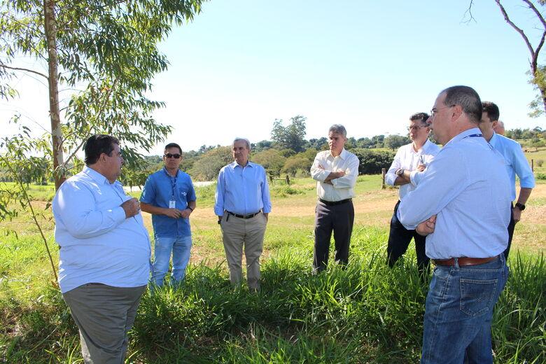 Presidentes da OCB e Agrishow discutem parceria com Embrapa em São Carlos - Crédito: Gisele Rosso