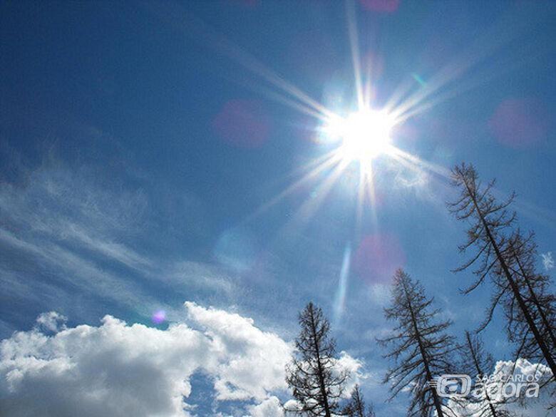 Final de semana será com tempo firme e calor -