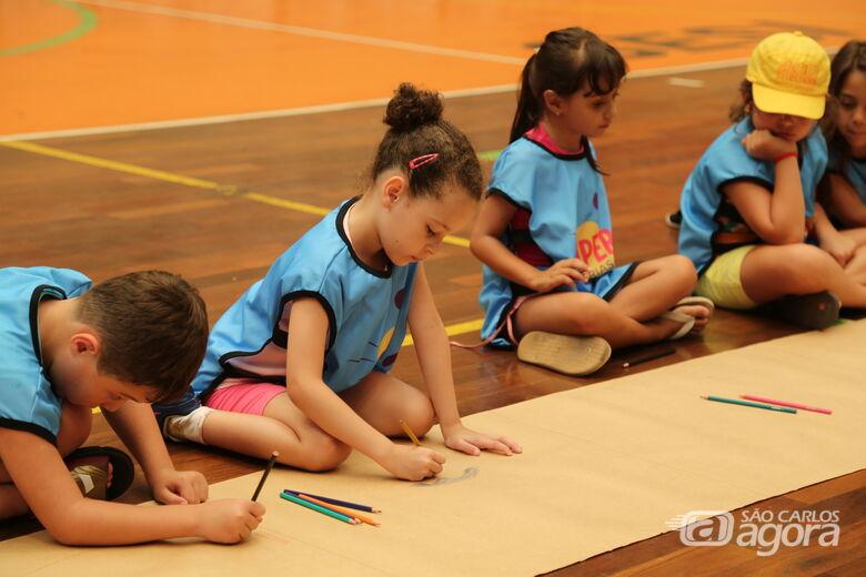 Sesi São Carlos garante a diversão da criançada nas férias de julho - Crédito: Divulgação