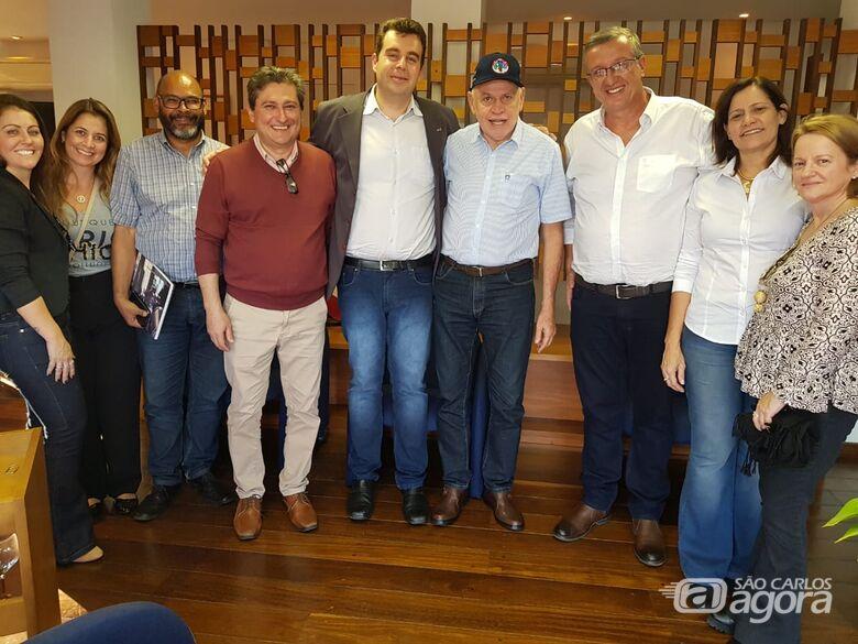 Secretário de Mobilidades Especializadas do MEC visita São Carlos -