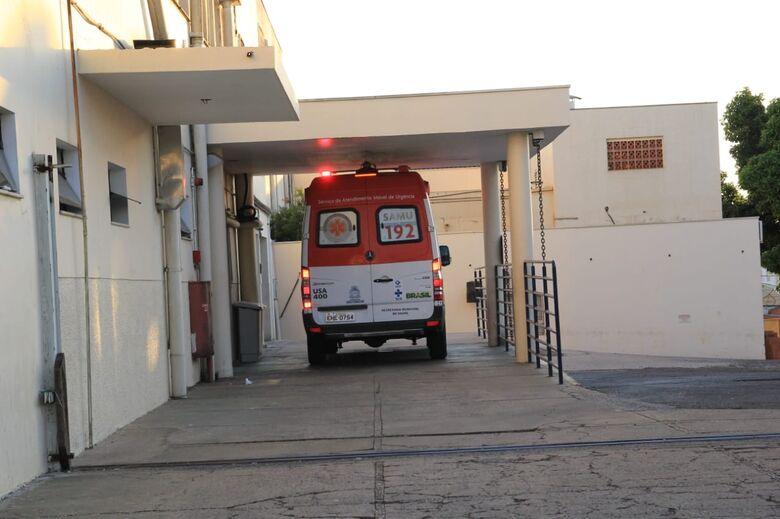 Homem sofre queimaduras de segundo grau com explosão de espiriteira - Crédito: Marco Lúcio