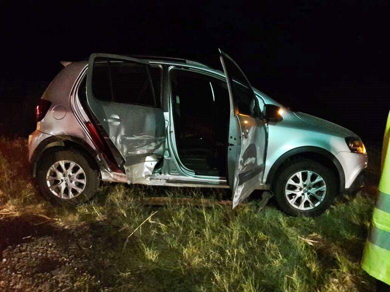 Motorista embriagado provoca colisão na SP-215 - Crédito: São Carlos Agora