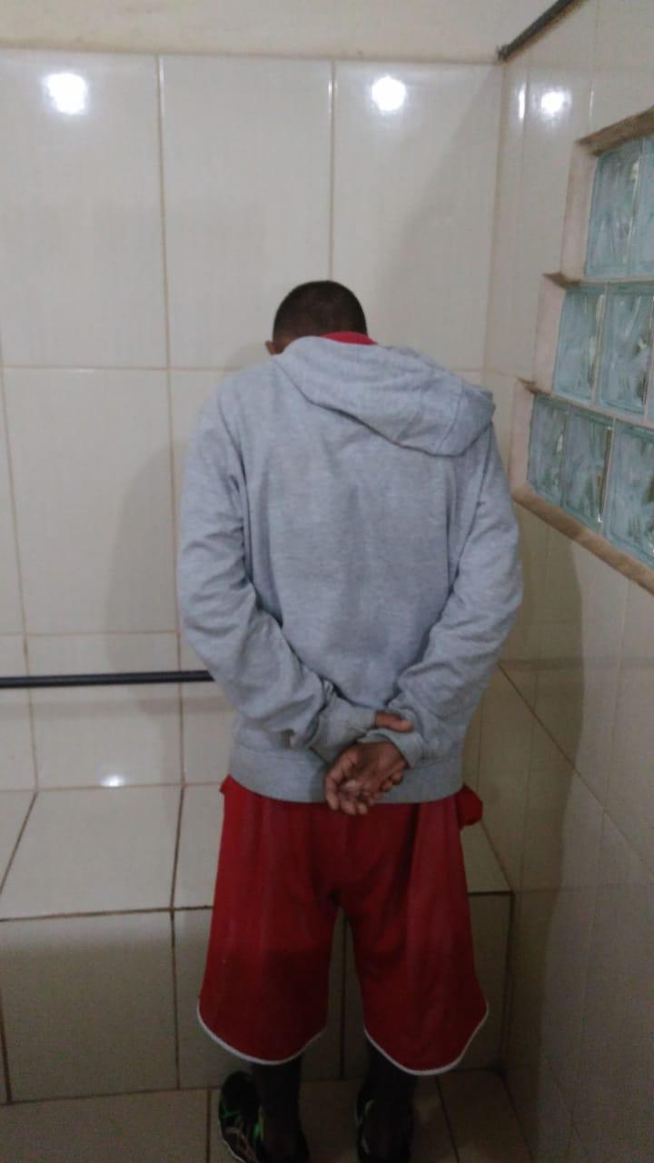GM detém jovem com drogas no Aracy 2 - Crédito: Luciano Lopes