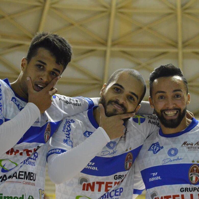 Em jogo de doze gols, São Carlos e Jaraguá empatam pela LNF - Crédito: Maicon Reis