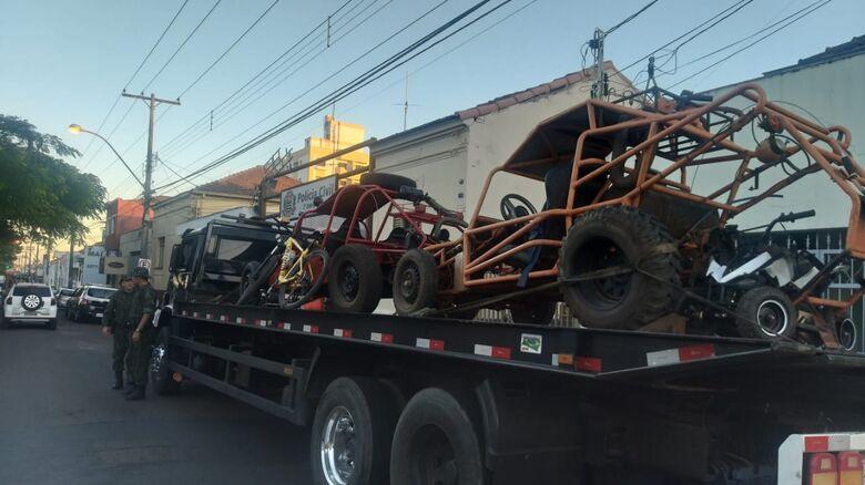 Objetos furtados em sítio são recuperados e dupla é detida no Antenor Garcia - Crédito: Luciano Lopes