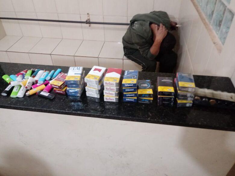 Após tentativa de furto, ladrão é detido pela GM - Crédito: Divulgação