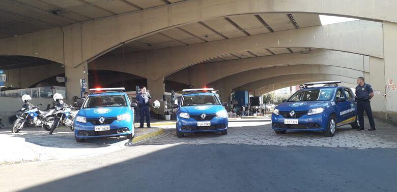 Guarda Municipal realiza operação nas proximidades da rodoviária -
