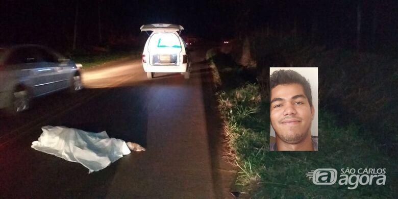 Homem morre atropelado na estrada de Gavião Peixoto - Crédito: Araraquara 24 Horas