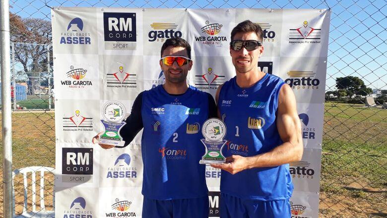 Vôlei masculino de São Carlos soma mais um título na APV - Crédito: Marcos Escrivani
