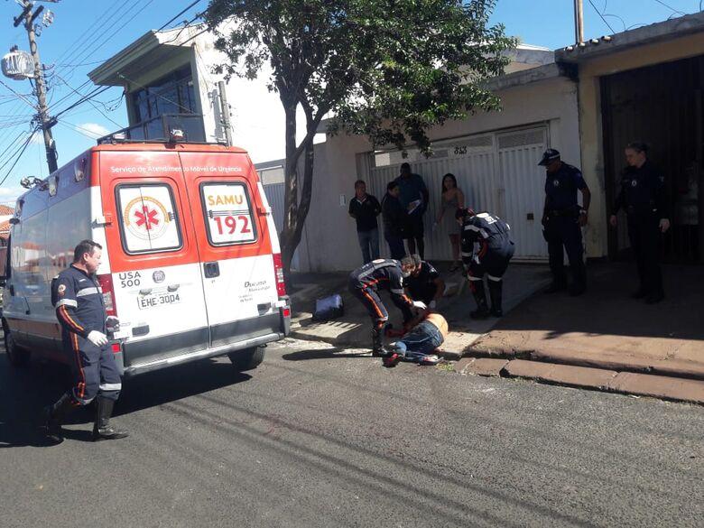 Durante briga, homem é esfaqueado diversas vezes e corre risco de morte - Crédito: Maycon Maximino