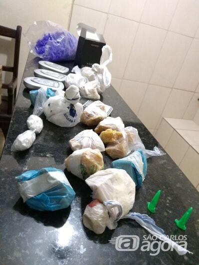 Casal de irmãos é acusado de tráfico de drogas no Santa Felícia - Crédito: São Carlos Agora