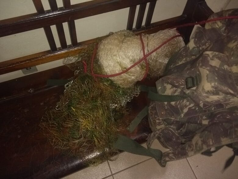 GM detém pescador dentro do Parque Ecológico -