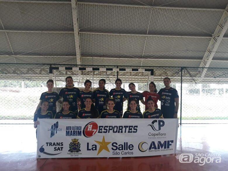 H7 Esportes/La Salle sofre, mas vence Jales na estreia nos Jogos da Juventude - Crédito: Marcos Escrivani