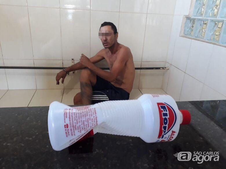 Homem é detido após tentar agredir e ameaçar a mãe na Vila Jacobucci - Crédito: Marco Lúcio
