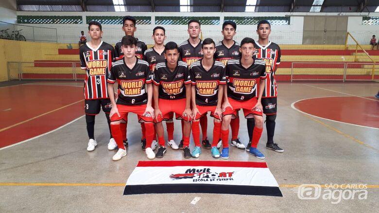 Sub16 do Multi Esporte/La Salle é a equipe a ser batida no Paulista Sul Minas - Crédito: Divulgação