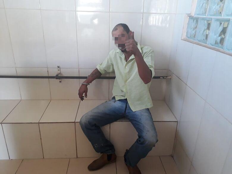 Pedreiro é preso após agredir ex-mulher, ex-sogra e ex-cunhada no Planalto Verde - Crédito: Marco Lúcio