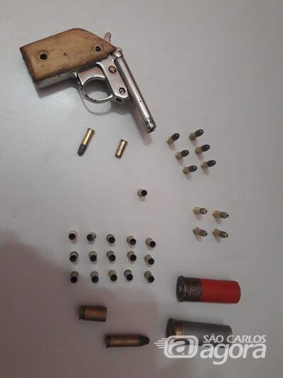 Após discussão, homem atira na casa da namorada - Crédito: Divulgação